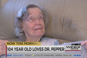 104 year old love dr pepper