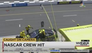nascar crew hit