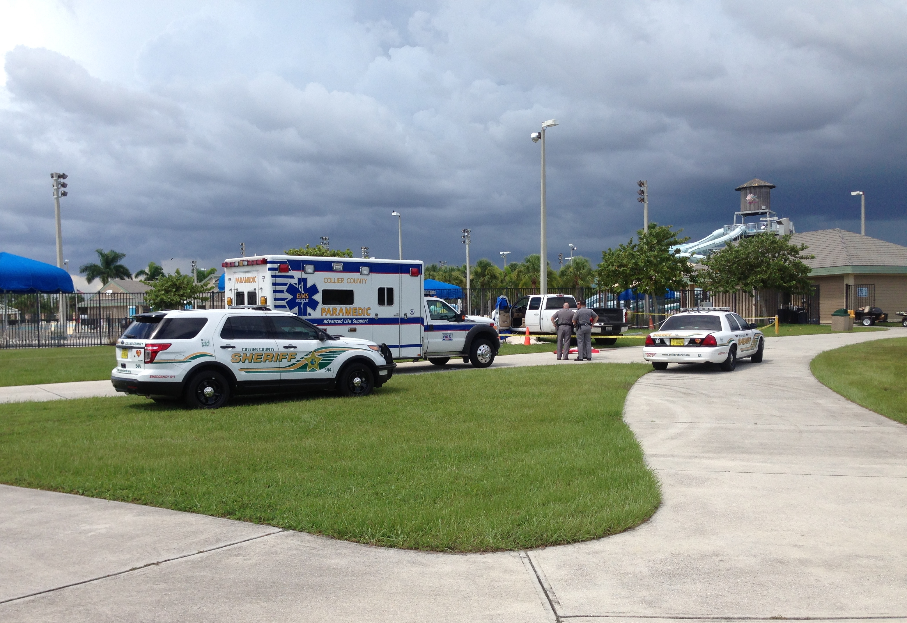 Body found at Naples water park