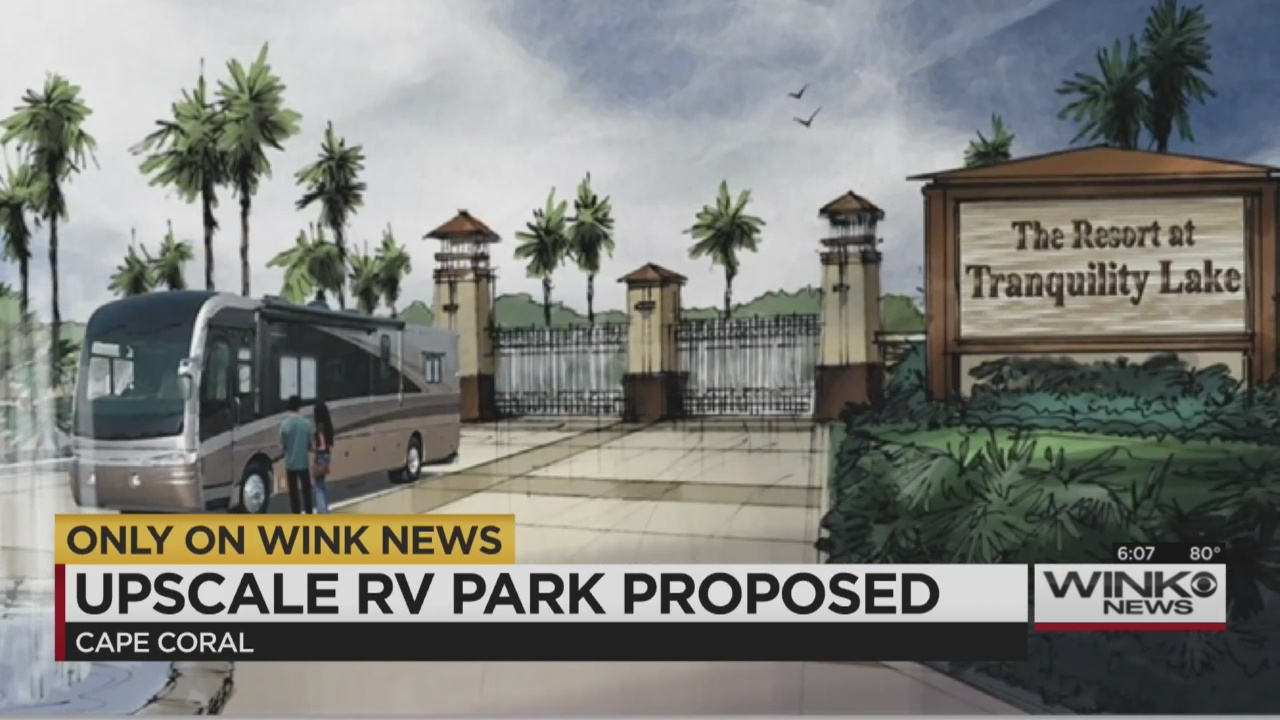 Upscale Cape Coral Rv Resort Close To Getting Approval