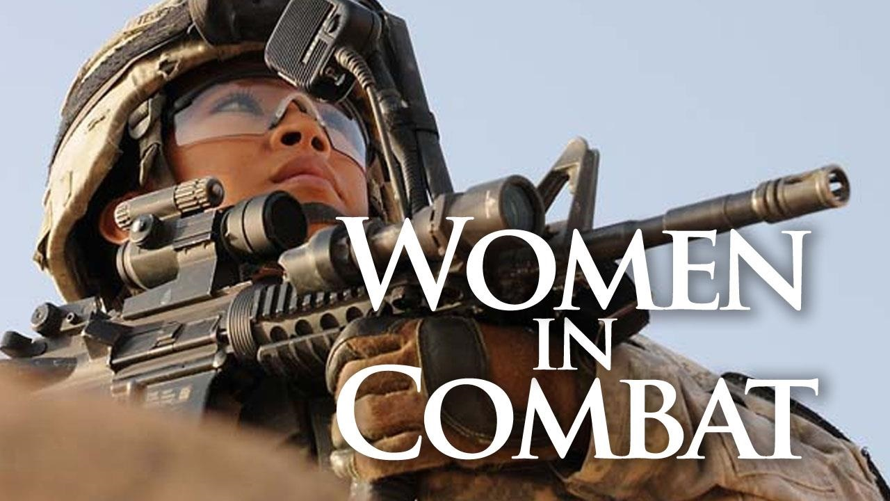 the debate on whether or not women should be allowed in combat