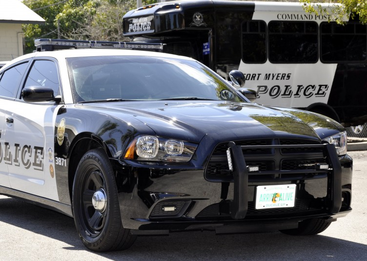 Fort Myers police vehicles