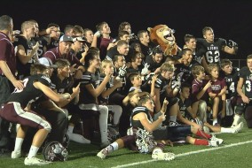 Lions after beating Dade Christian 35-7 for Region Title.