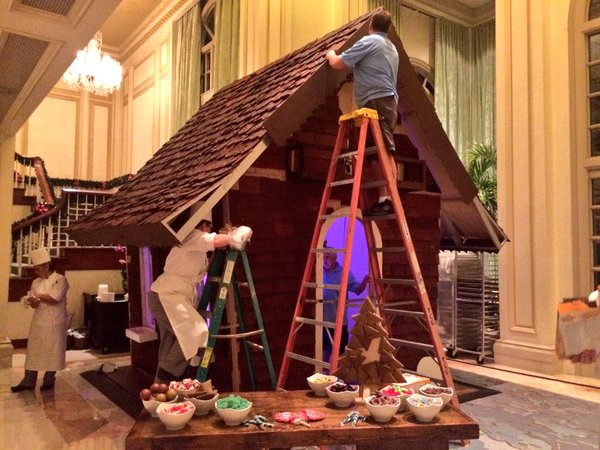Gingerbread House Comes To Life In Naples