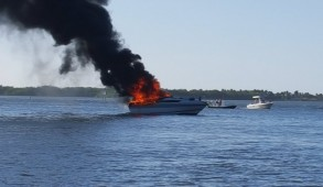 boat fire no supes