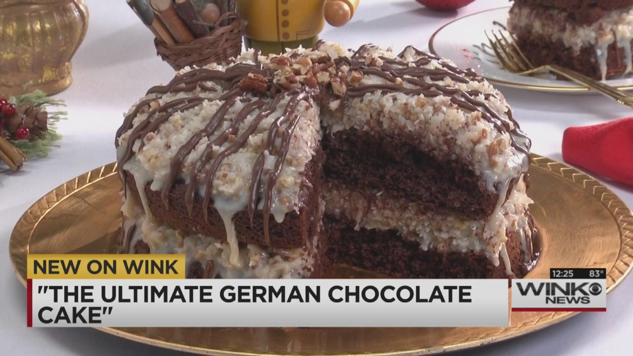 Mr Food Ultimate German Chocolate Cake