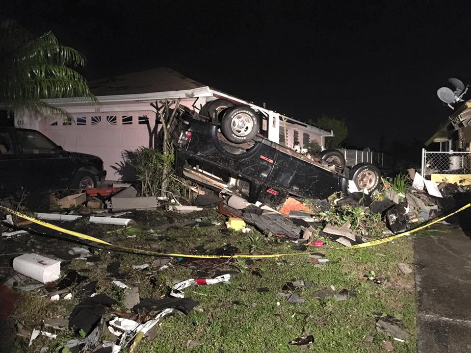 NWS confirms tornado touched down in Cape Coral