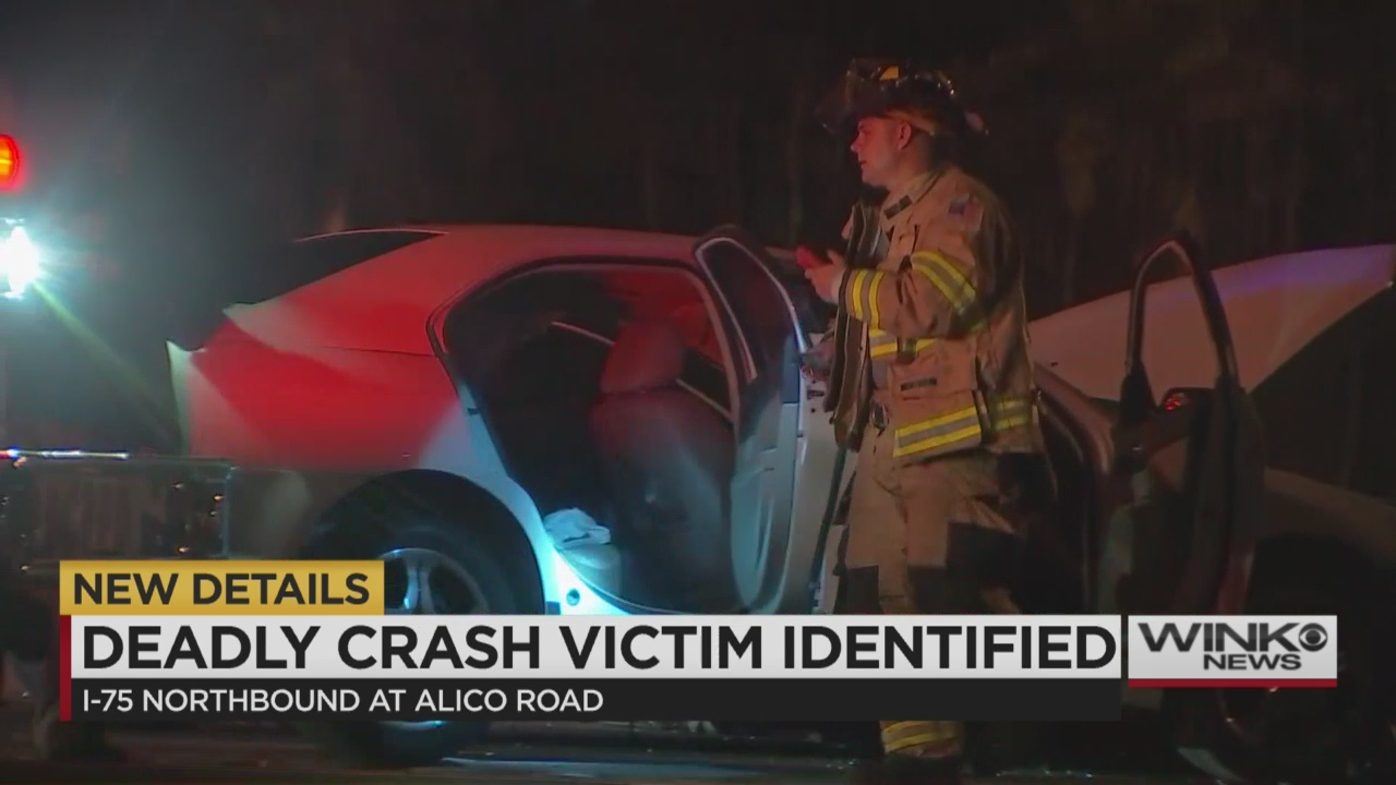 car accident fort myers  Fort Myers woman killed in I-75 crash