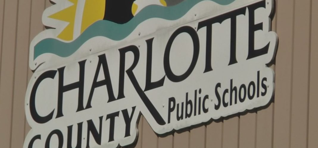 FILE: Logo of Charlotte County Public Schools. Credit: WINK News/FILE)