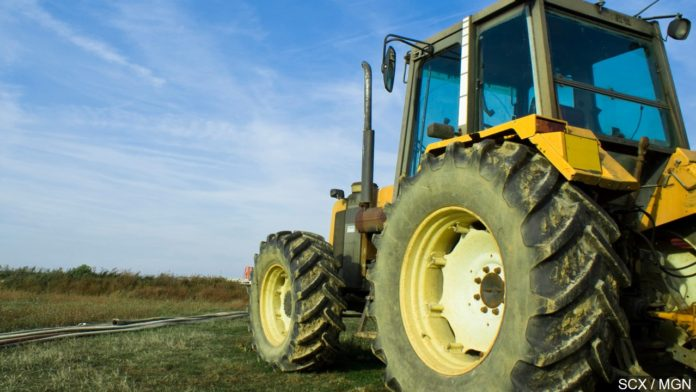 killed after being farm tractor