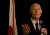 Gov. Rick Scott addressed the Florida delegation on Thursday during the Republican National Convention. (Stan Chambers Jr./WINK News)