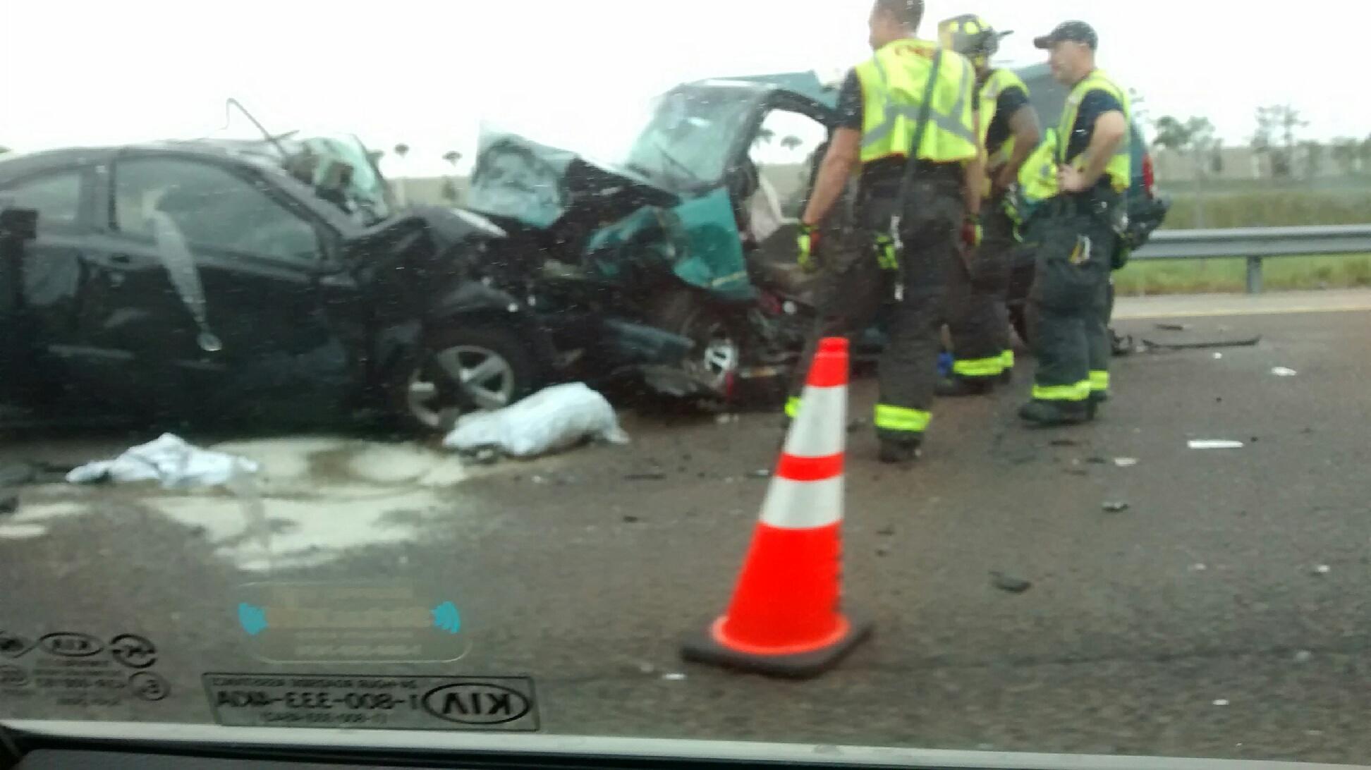 Wrong Way Car Crash Florida