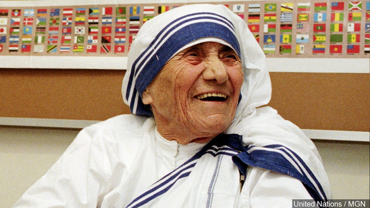 Mother Teresa joined the ranks of other Catholic Saints Sunday