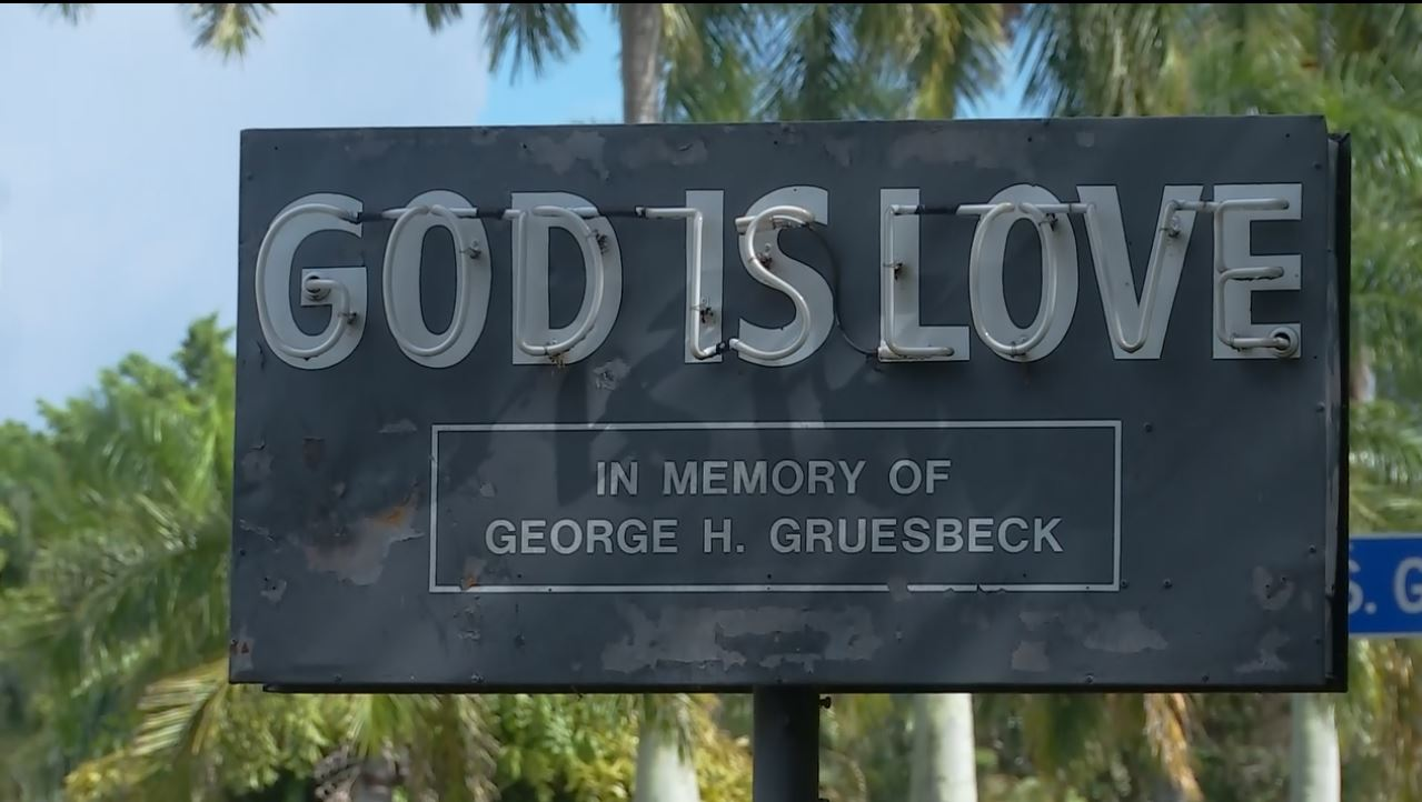 Arkansas Bill Of Sale >> 'God is Love' home in Fort Myers for sale, sign to stay ...