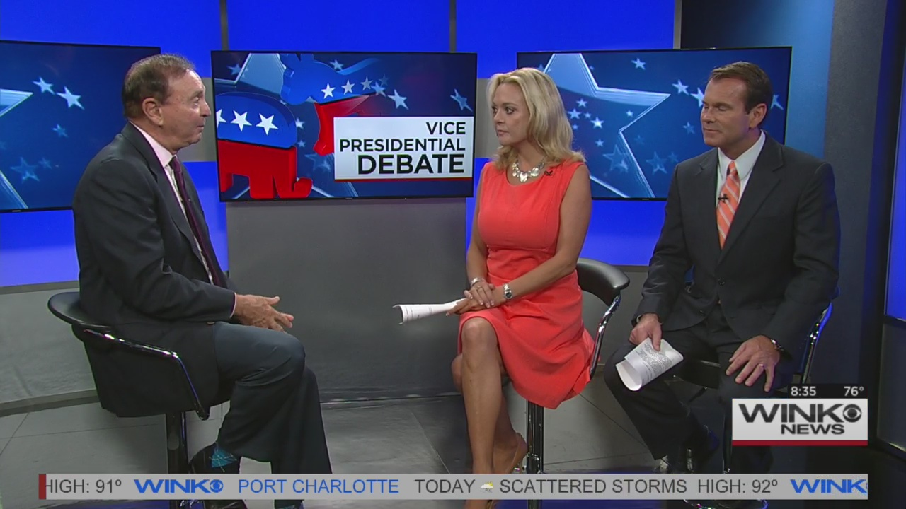 Dr. Rossi discusses Vice Presidential debate
