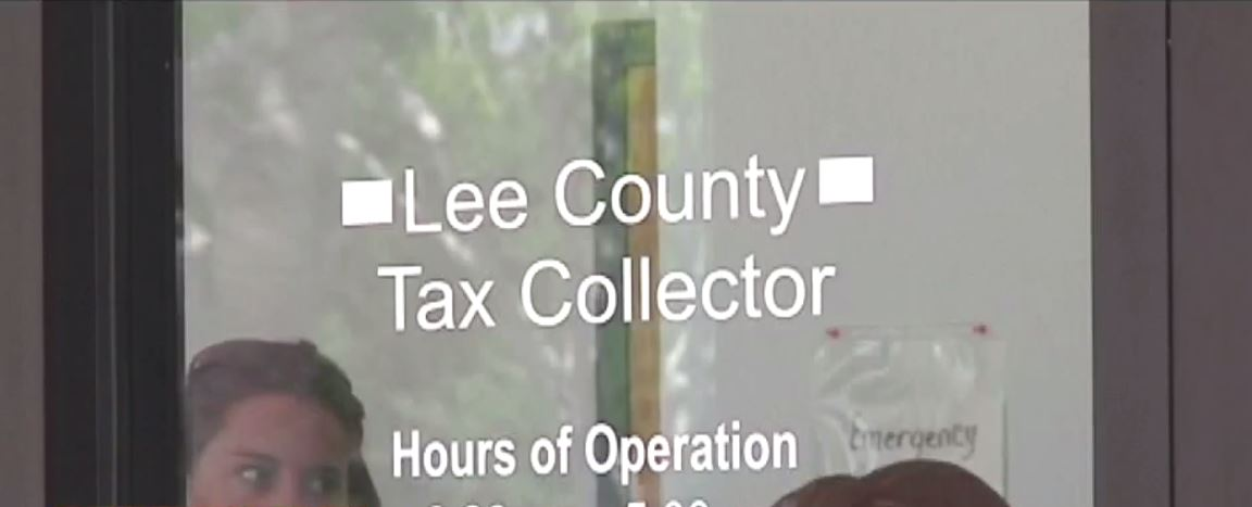 Lee County Tax Collector sends property tax notice
