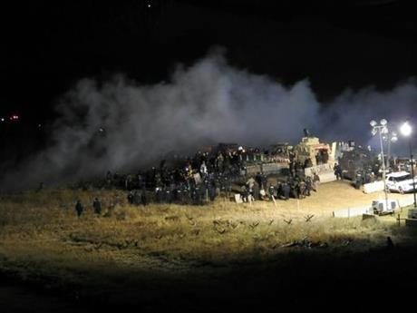 Woman seriously injured during pipeline protest