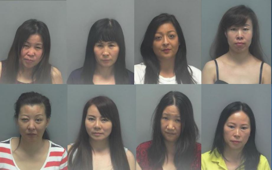 8 Arrested In Lee County Massage Parlor Prostitution Bust