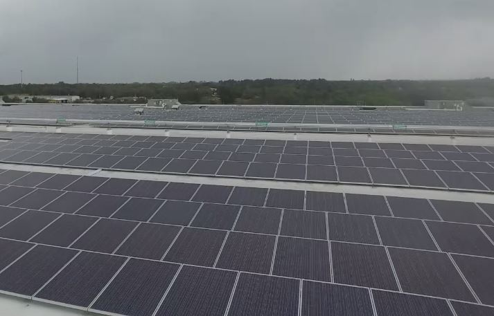 Massive Solar Grid Powers Lee County Beer Warehouse