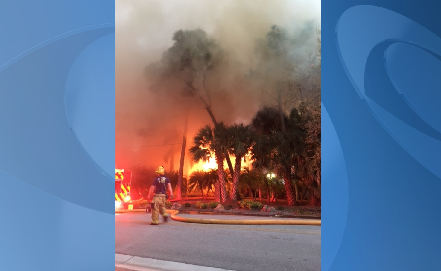 3m Naples Home Bursts Into Flames Wink News
