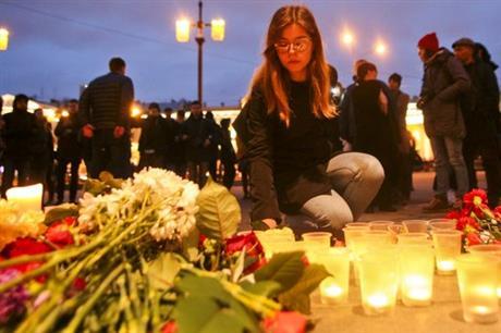 St Petersburg subway bomber identified as man from Kyrgyzstan