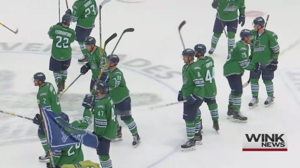 Everblades claim seventh game to survive series with Solar Bears