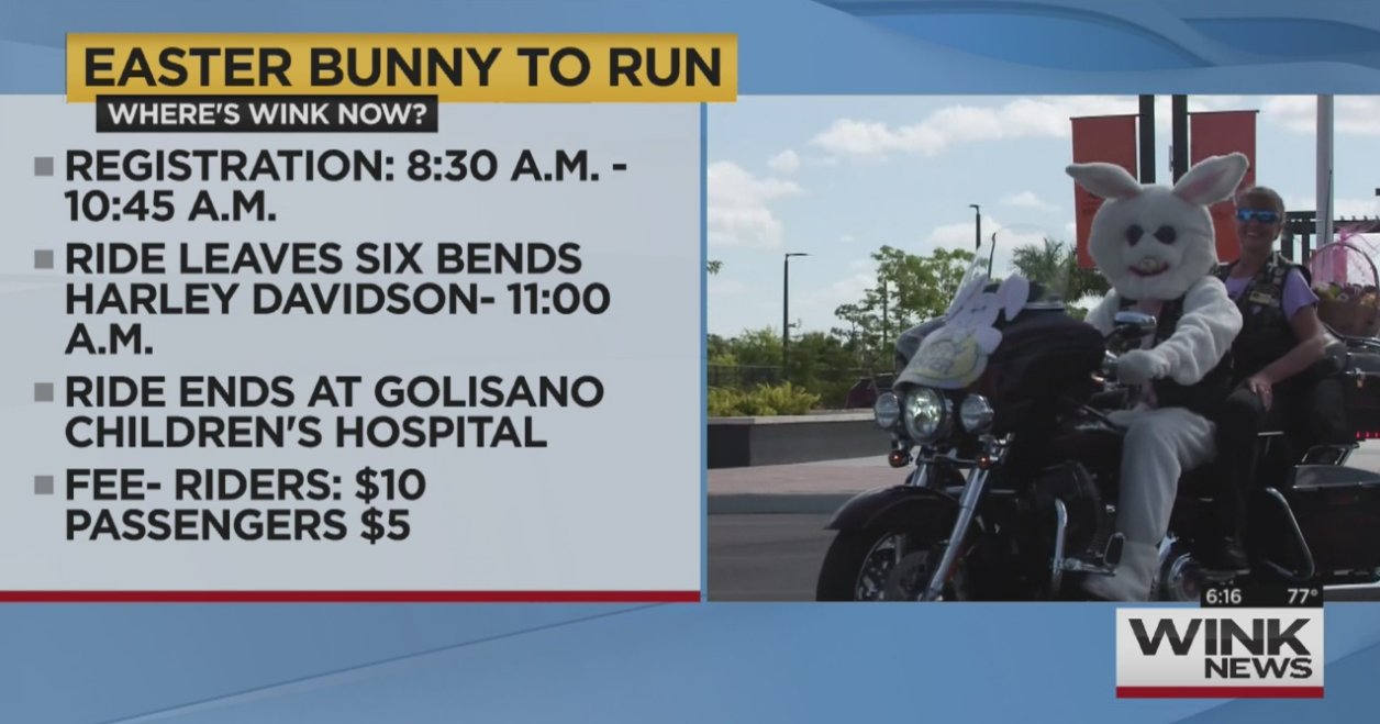 14th Annual Easter Bunny Toy Run