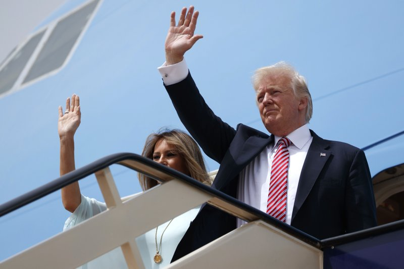 Trump opens first visit to Israel as president
