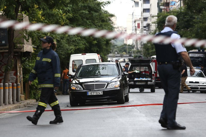 Greek govt official describes blast as attack