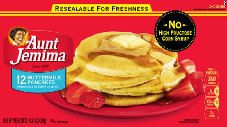 Aunt Jemima pancakes, waffles, French toast recalled