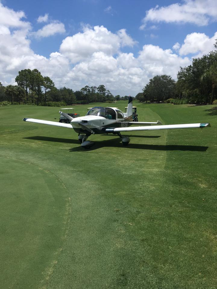 Small Plane Lands On Collier County Golf Course