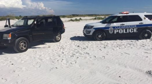 Florida man streams risky beach ride on Facebook Live