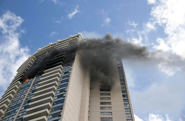 Fire breaks out at Honolulu high-rise, injuries reported
