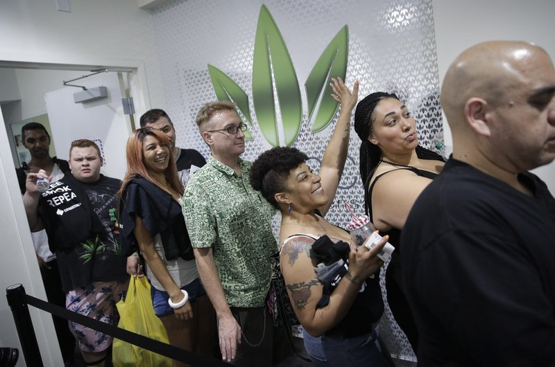 Marijuana sales now legal in Nevada