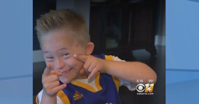 Boy with down syndrome goes viral for singing Whitney Houston