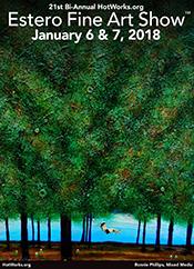 21st bi-annual Hot Works Estero Fine Art Show