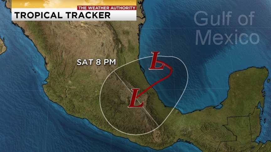 New storm forms, may turn hurricane by Friday