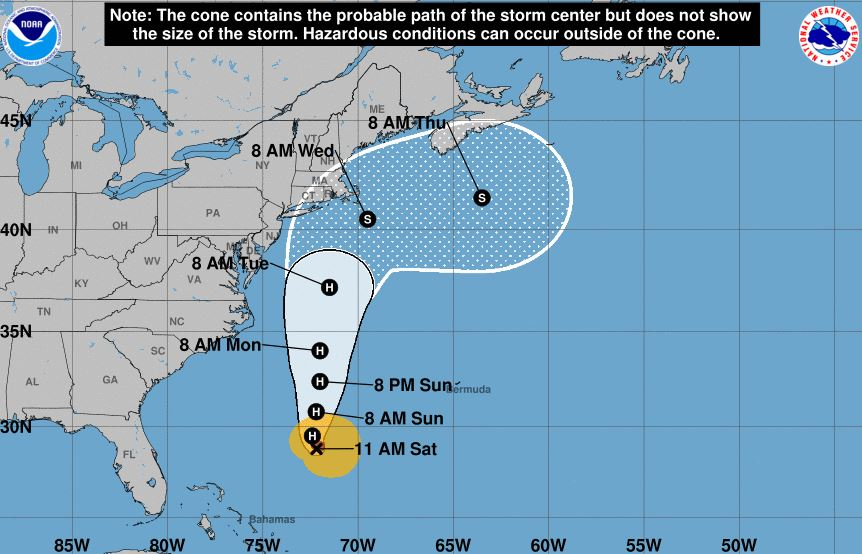 NWS: Tropical storm watch canceled as Jose weakens