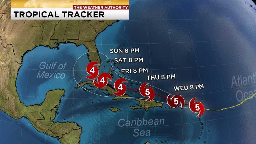 Hurricane Irma leaves trail of devastation across the Caribbean