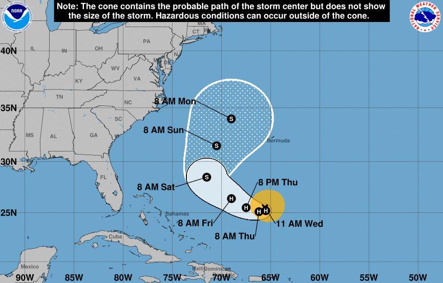 Hurricane Jose Projected Path, Spaghetti Models