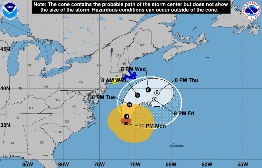 Hurricane Jose maintains intensity, expected to bring dangerous surf and rip currents