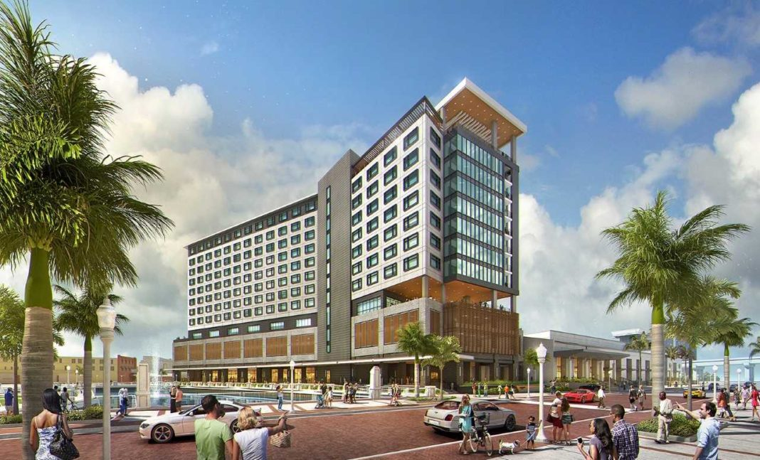 FILE: Luminary Hotel rendering (Graphic via Mainsail Development/FILE)