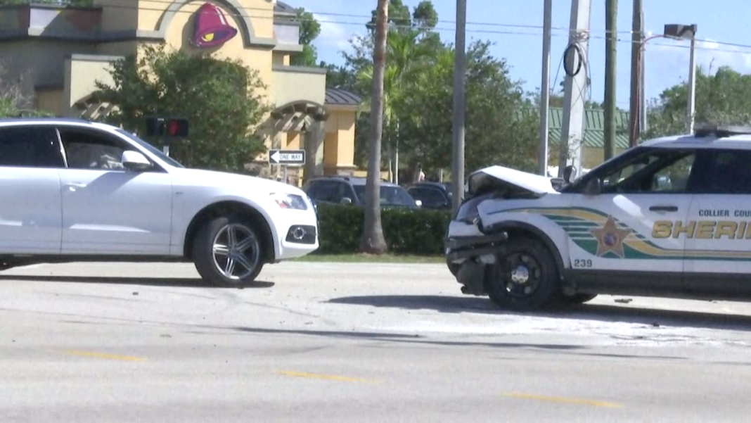 Fhp Collier County Sheriff S Deputy Runs Red Light