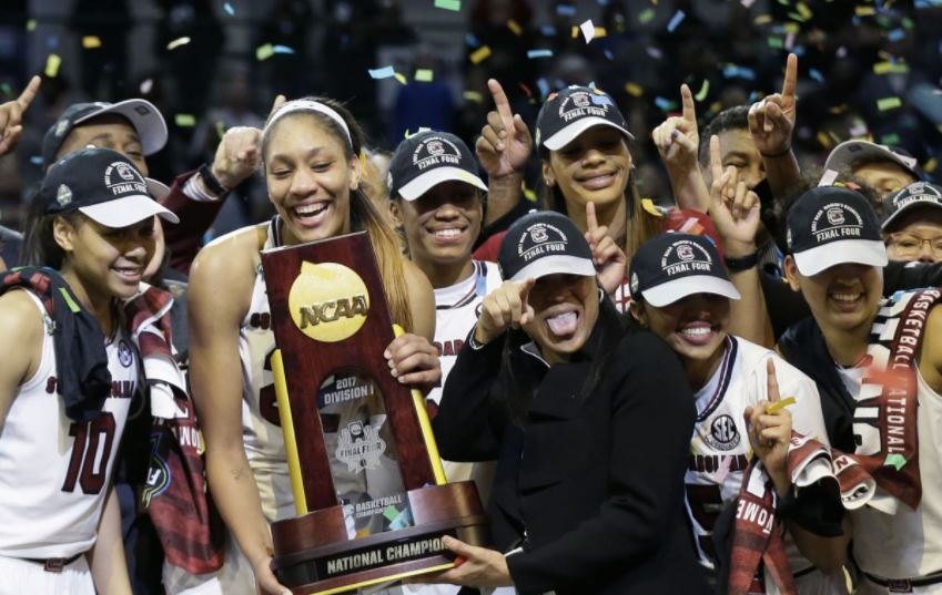 Trump honors NCAA champions - with one notable omission