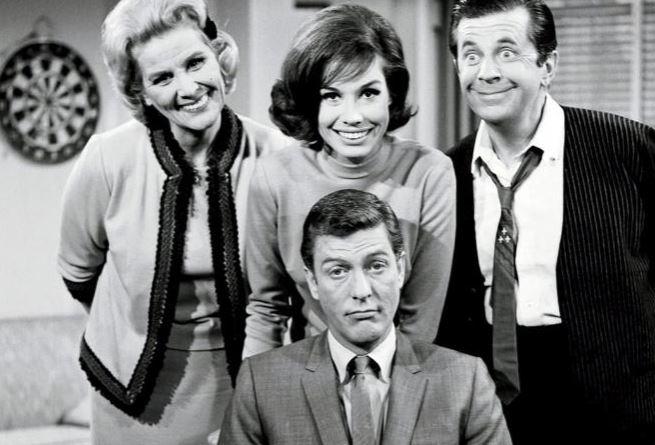 Cast of the dick vandyke show