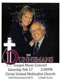 The Dunnemans Gospel Music Concert