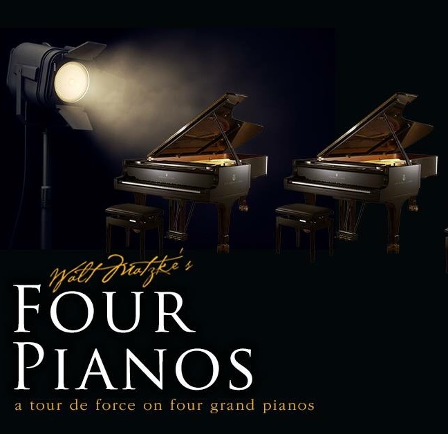 Walt Matzke's Four Pianos: A tour de force on four grand pianos