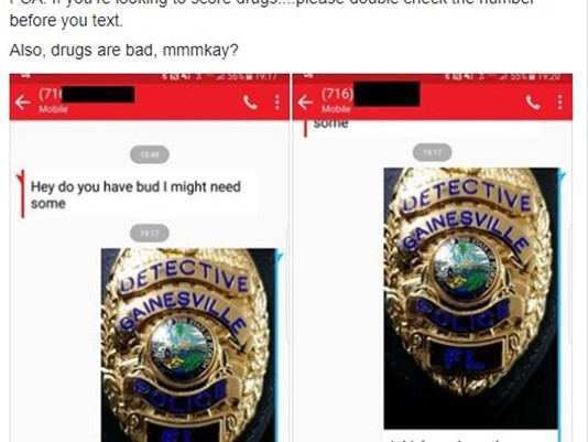 Gainesville police have best response for drug-seeking texter