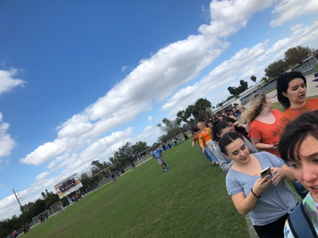 Students in Southwest Florida walk out against gun violence