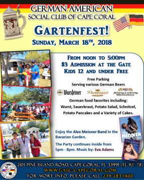 Gartenfest - March 2018